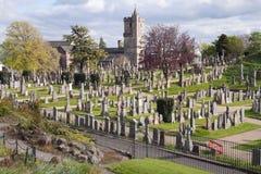 古老公墓,苏格兰 库存照片