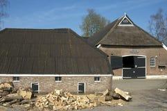 古老农场Rankenberg, Wijhe,荷兰 库存照片