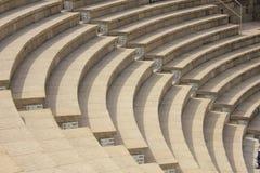古老凯瑟里雅maritima罗马剧院 免版税库存图片