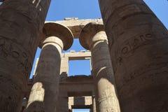 古老卢克索在埃及 库存照片
