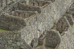 古老印加人市的看法马丘比丘 第15个世纪 库存图片