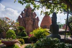 古老印地安寺庙亚洲视域一  图库摄影