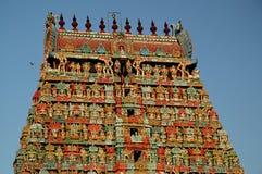古老印度印度寺庙 图库摄影