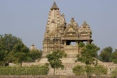 古老印度寺庙 免版税库存图片