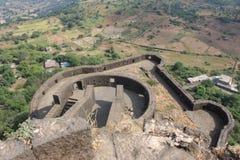古老印度的城堡 免版税图库摄影