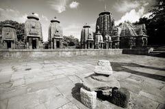 古老印第安寺庙 库存照片