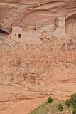古老印第安那瓦伙族人村庄 免版税库存图片