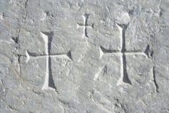 古老历史墙壁 免版税库存图片