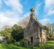 古老历史的教堂苏格兰 免版税库存图片