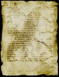 古老原稿 免版税图库摄影