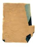 古老变老的纸背景 图库摄影