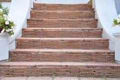 古老台阶细节  免版税图库摄影