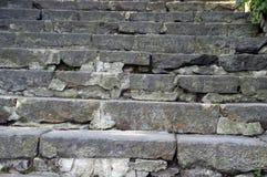 古老台阶 免版税库存照片