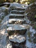 古老台阶 图库摄影