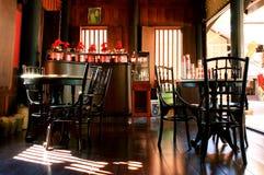 古老咖啡馆 库存照片