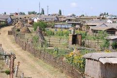 古老哥萨克人居住库班河州农业大学 库存照片