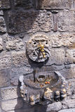 古老喷泉 库存照片