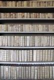 古老图书馆 库存照片