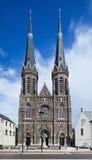 古老圣若瑟教会,提耳堡大学,荷兰 免版税库存照片