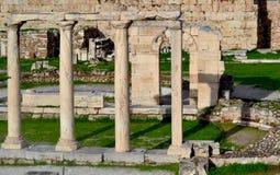 古老在雅典 免版税库存图片
