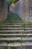 古老地中海台阶 库存图片