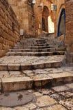 古老地中海街道 库存图片