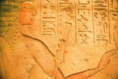 古老埃及人Neues博物馆保存的Riy画象  免版税图库摄影