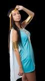 古老埃及妇女-帕特拉 免版税库存图片