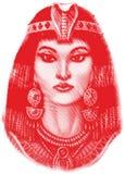 古老埃及妇女 库存图片