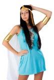 古老埃及妇女- Cleopatra 免版税库存图片