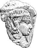 古老埃及安心 图库摄影