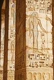 古老埃及寺庙 免版税库存照片