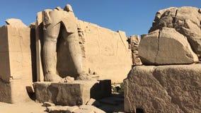古老埃及巨石的大厦和专栏 埃及大厦古老废墟  图库摄影