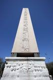 古老埃及方尖碑 免版税库存照片
