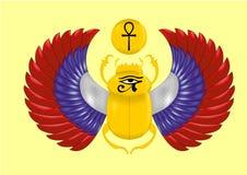 古老埃及标志 免版税库存图片