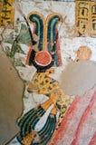 古老埃及猎豹绘画 免版税库存照片