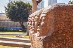 古老埃及纪念碑 免版税库存照片