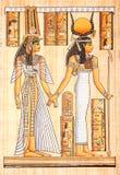 古老埃及羊皮纸 免版税库存照片