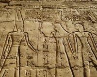 古老埃及象形文字 免版税库存图片