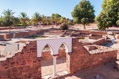 古老城堡在Silves 免版税库存图片