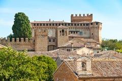 古老城堡意大利 免版税库存照片