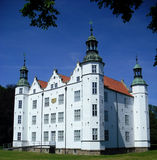 古老城堡老白色 免版税库存图片