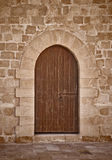 古老城堡门 免版税库存图片