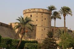古老城堡 开罗 埃及 免版税库存照片