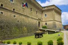 古老城堡 免版税图库摄影