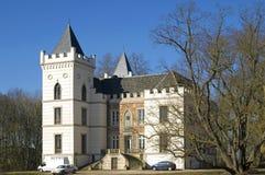 古老城堡Beverweert, Werkhoven,荷兰 免版税库存图片