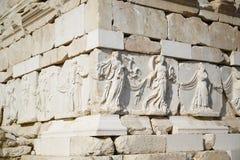 古老城市废墟 免版税库存照片