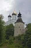 古老城市普斯克夫俄国 库存图片