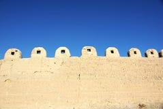 古老城市零件墙壁 库存照片