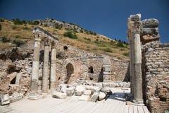 古老城市ephesus 免版税库存照片